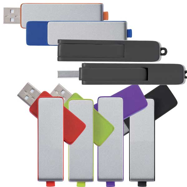 Custom Printed promotional 1Gb USB Flash Drives