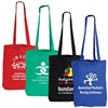 Coloured Cotton Calico Double Long Handle Conference Bags