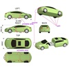 Sports Car Shaped USB Flash Drive- 32Gb
