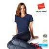 Hanes V Neck T shirts - Ladies